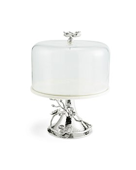 Michael Aram - White Orchid Cake Stand with Dome