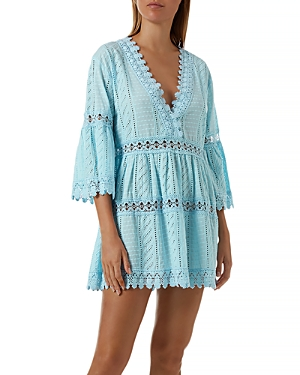 Melissa Odabash VICTORIA CROCHET COVER-UP DRESS