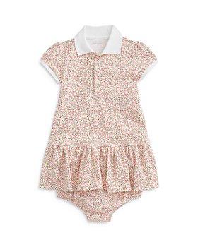 Ralph Lauren - Girls' Drop Waist Floral Polo Dress - Baby