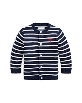 Ralph Lauren - Boys' Striped Cotton Cardigan - Baby