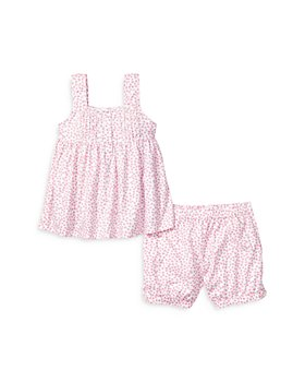 Petite Plume - Girls' Charlotte Sleep Shorts Set - Baby, Little Kid, Big Kid