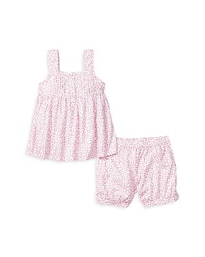 Petite Plume GIRLS' CHARLOTTE SLEEP SHORTS SET - BABY, LITTLE KID, BIG KID