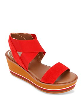 Kenneth Cole - Women's Harlow Stretch Wedge Sandals