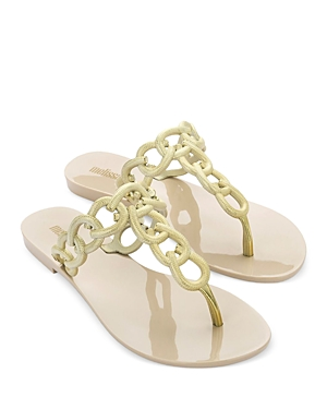 Women's Success Chain Link Thong Sandals