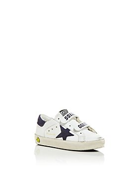 Golden Goose Deluxe Brand - Unisex Old School Low Top Sneakers - Baby, Walker, Toddler