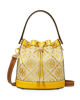 Tory Burch - T Monogram Jacquard Bucket Bag