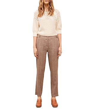 Margaret Plaid 7/8 Straight Leg Pants