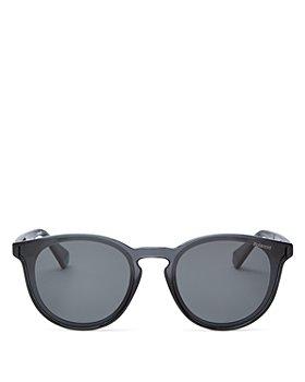 Polaroid - Men's Polarized Round Sunglasses, 59mm