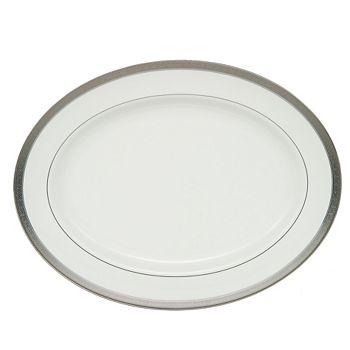 Waterford - Newgrange Platinum Oval Platter