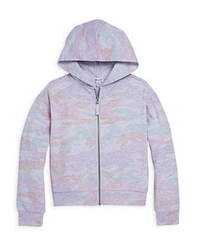 Splendid - Girls' Pastel Camouflage Hoodie - Big Kid