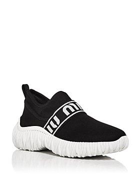 Miu Miu - Women's Calzature Donna Slip On Sneakers