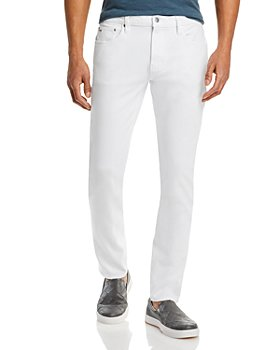 Michael Kors - Parker Stretch Slim Fit Jeans in White