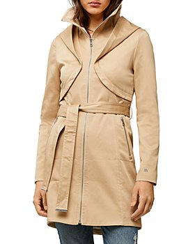Soia & Kyo - Arabella Belted Above-the-Knee Trench Coat