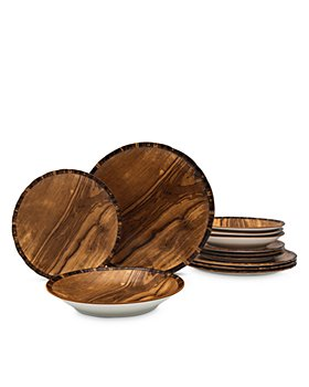 Godinger - Foret 12 Piece Dinnerware Set - 100% Exclusive
