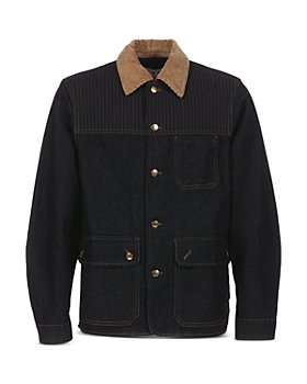 Marni - Contrast Collar Denim Work Jacket