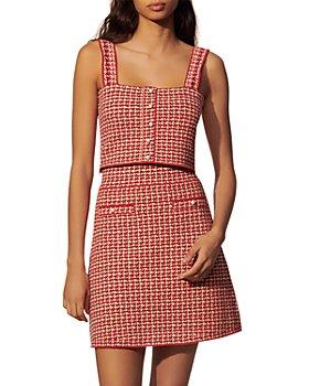 Sandro - Blandine Tweed Mini Skirt
