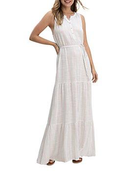 Splendid - Fresco Stripe Sleeveless Maxi Dress
