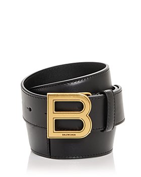 Balenciaga - Men's Hourglass Large Leather Belt