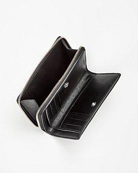 Balenciaga - Croc Embossed Leather Bifold Wallet