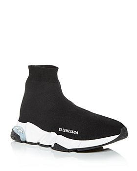 Balenciaga - Men's Speed 2.0 Clear Sole High Top Sneakers