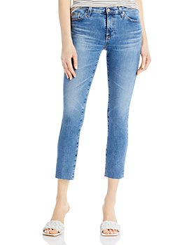 AG - Prima Cropped Jeans in 16 Years Rouse - 100% Exclusive