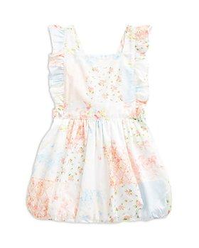 Ralph Lauren - Girls' Cotton Patchwork Bubble Romper - Baby