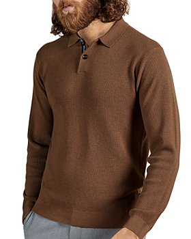 Ted Baker - Long Sleeve Knit Polo