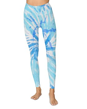Spiritual Gangster - Love Sculpt Tie-Dye Leggings