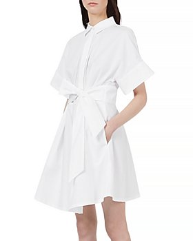Armani - Tie Waist Shirtdress