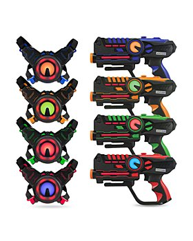 NESSTOY - ArmoGear Laser Battle Mega Pack, Set of 4 - Ages 8+