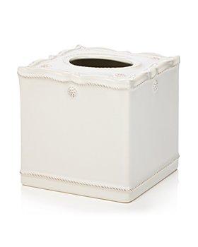 Juliska - Berry & Thread Whitewash Tissue Box Cover