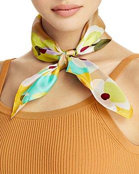 Echo - Bold Floral Silk Bandana