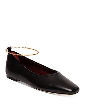 STAUD - Women's Maeve Anklet Ballet Flats