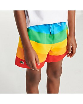 Lacoste - Boys' Polaroid Swim Trunks - Little Kid, Big Kid