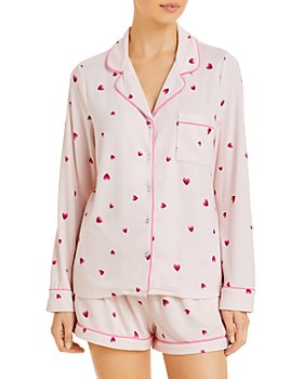 Splendid - Heart Print Short Pajama Set