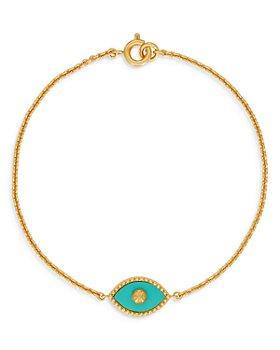Tory Burch - Evil Eye Stone Bracelet