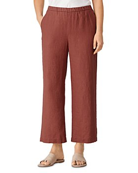 Eileen Fisher - Linen Ankle Pants