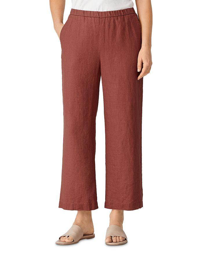 Eileen Fisher - Linen Ankle Pants