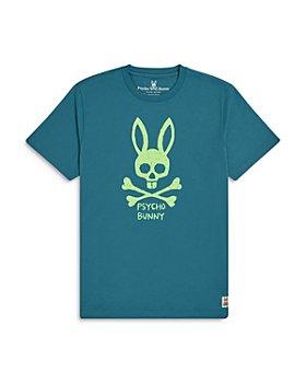 Psycho Bunny - Unisex Jasper Graphic Logo Tee - Little Kid, Big Kid