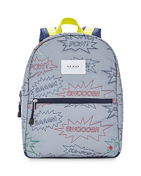 STATE - Kane Kids Mini Embroidered Exclamations Backpack