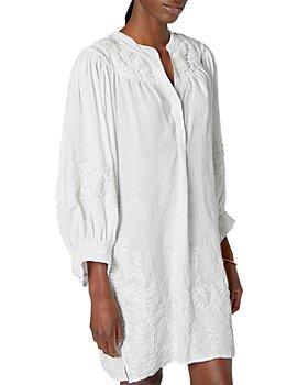 Joie - Farida Embroidered Linen Dress