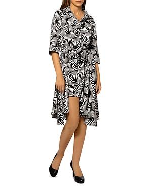 Asymmetric Hem Shirt Dress (42% off)