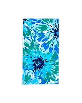 Sky - Floral Print Beach Towel- 100% Exclusive