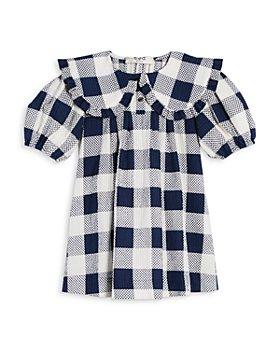 Sea - Girls' Morgan Gingham Print Puff Sleeve Dress - Little Kid