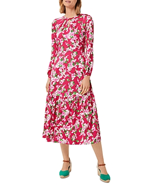 Marilyn Floral Print Dress