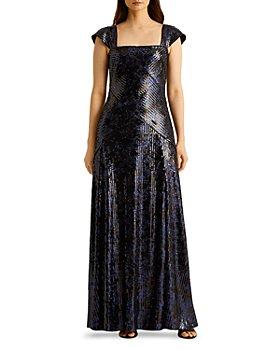 Ralph Lauren - Metallic Sequined Gown