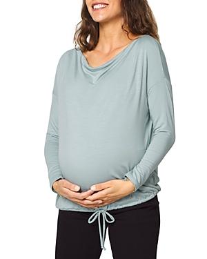 Maternity Drapey Long Sleeve Tee