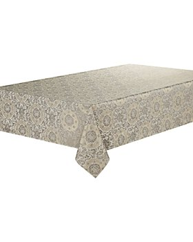 "Waterford - Concord Tablecloth, 144"" x 70"""