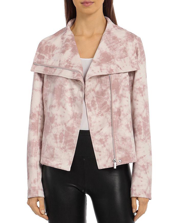 Bloomingdale's - Tie Dye Faux Suede Envelope Jacket