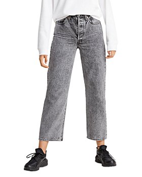 Levi's - Rib Cage Straight-Leg Cropped Jeans
